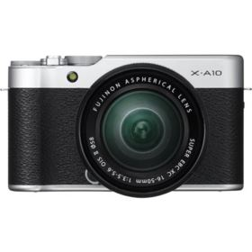Fujifilm X-A10 Digital Camera with 16-50mm XC II Lens