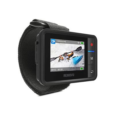 Removu R1+ Waterproof Wearable Wi-Fi Live Viewer For GoPro