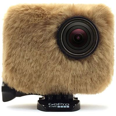 Removu Wind Jacket For GoPro - Brown