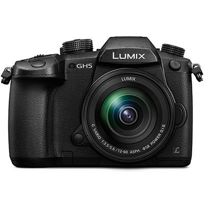 Panasonic Lumix DMC-GH5 Digital Camera with 12-60mm f3.5-5.6 Lens
