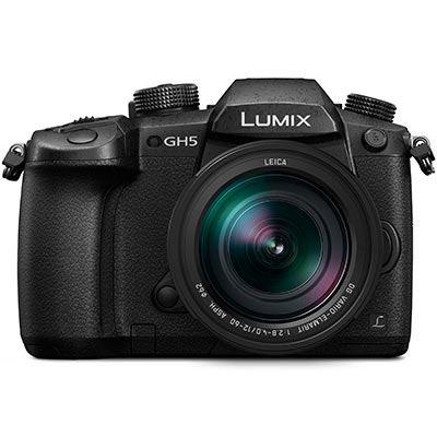 Panasonic Lumix DMCGH5 Digital Camera with 1260mm f2.84.0 Leica Lens