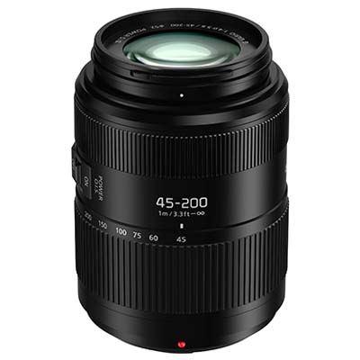 Panasonic 45200mm f4.05.6 II LUMIX G VARIO POWER O.I.S. Lens