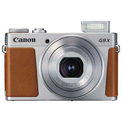 Image of Canon PowerShot G9 X Mark II Digital Camera - Silver