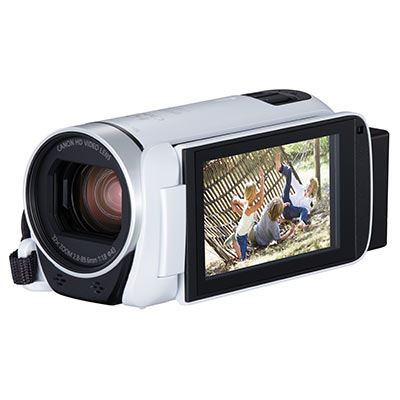 Image of Canon LEGRIA HF R806 Camcorder, HD 1080p, 3.28MP, 57x Advanced Zoom, Optical Image Stabiliser, 3 Vari-angle Touch Screen LCD Display