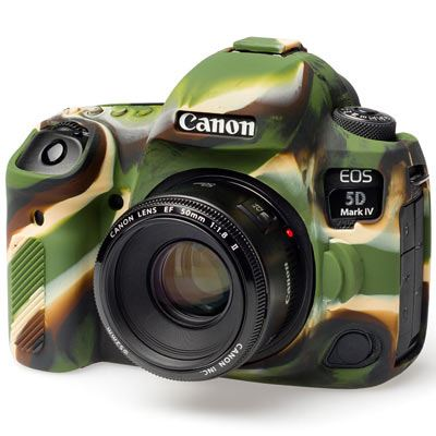 Image of Easy Cover Silicone Skin for Canon 5D Mark IV - Camouflage