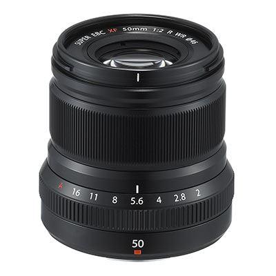 Fujifilm XF 50mm f2 R WR Lens - Black