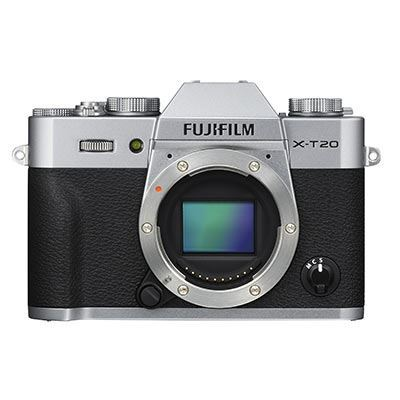 Fuji XT20 Digital Camera Body  Silver