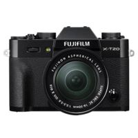Fujifilm X-T20 with XC 16-50mm Mark II Lens - Black