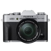 Fujifilm X-T20 with XC 16-50mm Mark II Lens - Silver
