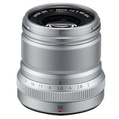 Fujifilm XF 50mm f2 R WR Lens - Silver
