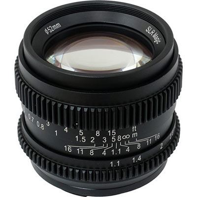 SLR Magic 50mm f/1.1 Lens - Sony E Mount