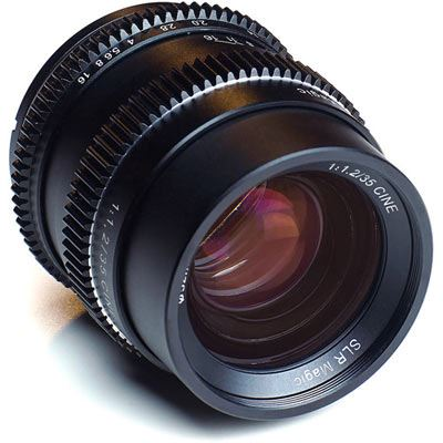 SLR Magic CINE 35mm F1.2 lens (Sony E Mount)