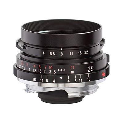 Image of Voigtlander 25mm f4 VM Color Skopar Pancake Lens