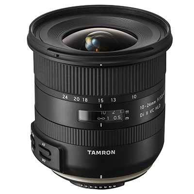 Tamron 10-24mm f3.5-4.5 Di II VC HLD Lens - Nikon Fit
