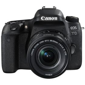Canon EOS 77D with 18-55mm IS STM