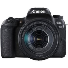 Canon EOS 77D with 18-135mm IS USM
