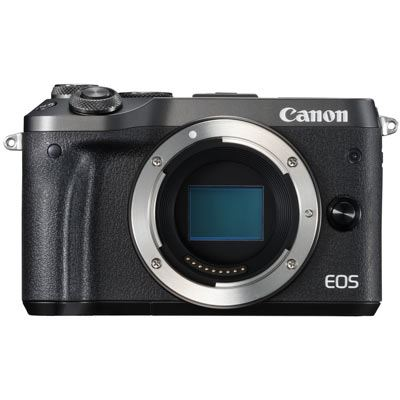 Image of Canon EOS M6 Digital Camera Body - Black