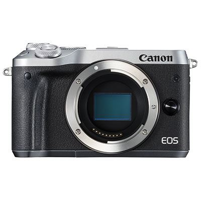 Canon EOS M6 Digital Camera Body  Silver