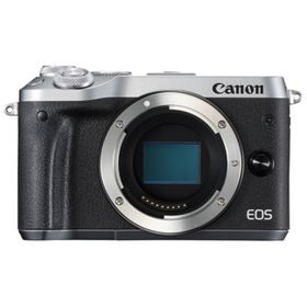 Canon EOS M6 Digital Camera Body - Silver