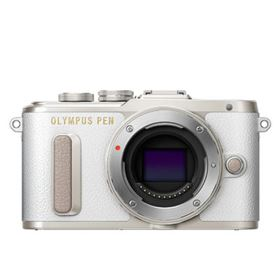 Used Olympus Pen E-PL8 Digital Camera Body - White