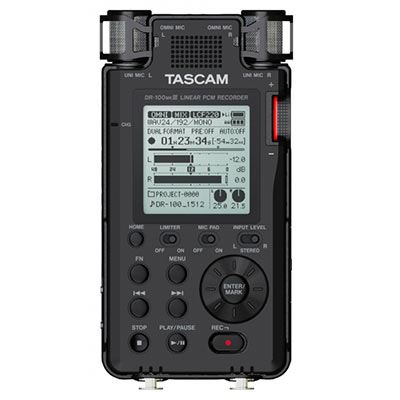 Tascam DR100MKIII Professional Handheld Recorder