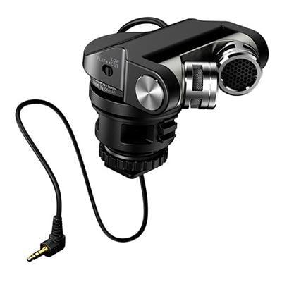 Image of Tascam TM-2X High-Quality Microphone for Digital Cameras
