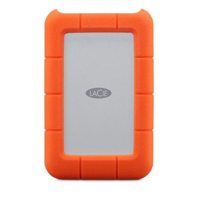 LaCie Rugged USB-C Portable Hard Drive - 1TB