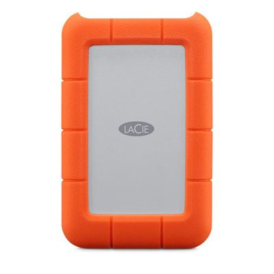 LaCie Rugged USB-C Portable Hard Drive - 4TB
