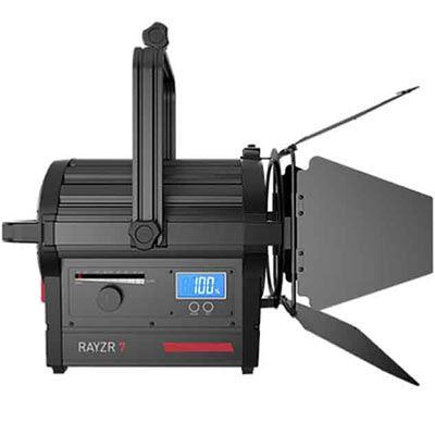 Rayzr 7 300 Daylight 7 Inch LED Fresnel Light - Premuim Pack
