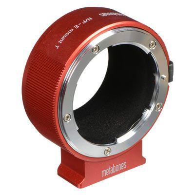 Image of Metabones Adapter Red Nikon F to Sony E-mount T/NEX II