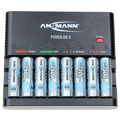 Image of Ansmann Powerline 8 w/ AA Maxe Pro x 4