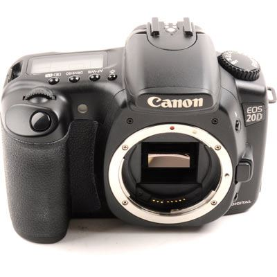 Image of Used Canon EOS 20D Body