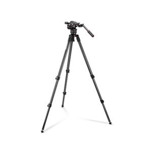 Manfrotto Nitrotech N8 and 535 Carbon Fibre Single Leg Tripod