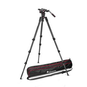 Manfrotto Nitrotech N8 and 536 Carbon Fibre Single Leg Tripod