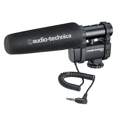 Image of Audio-Technica AT8024 Stereo/Mono Camera Mount Condenser Microphone