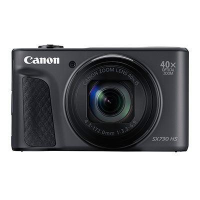 Canon PowerShot SX730 HS Digital Camera - Black