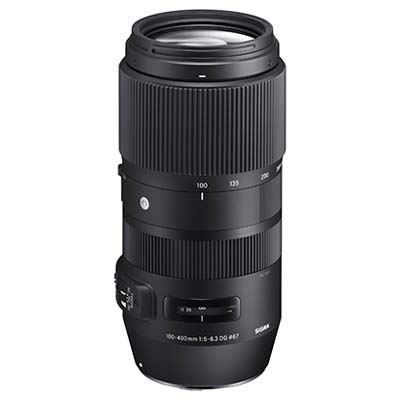 Used Sigma 100-400mm f5-6.3 DG OS HSM Contemporary Lens - Canon Fit