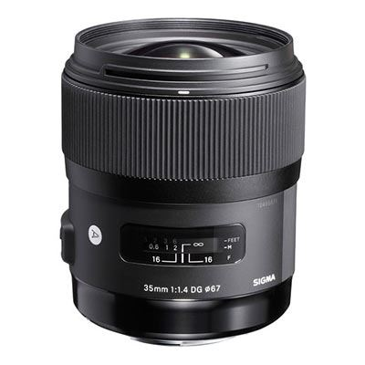 Sigma 35mm f1.4 DG HSM Art Lens - Pentax Fit
