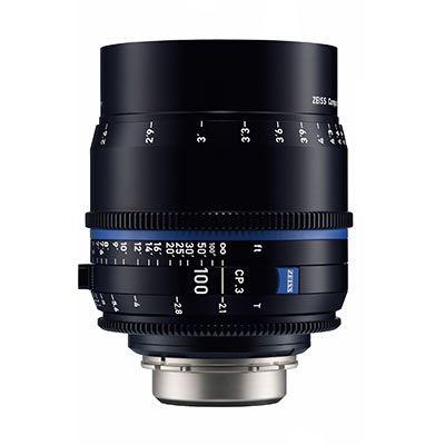 Zeiss CP.3 100mm T2.1  Lens – F Mount (Feet)