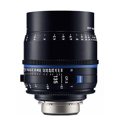 Zeiss CP.3 135mm T2.1  Lens – E Mount (Metric)