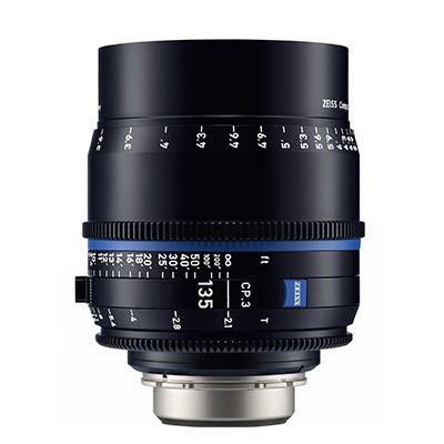 Zeiss CP.3 135mm T2.1  Lens – F Mount (Metric)