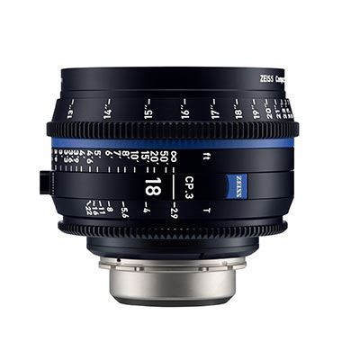 Zeiss CP.3 18mm T2.9  Lens – E Mount (Metric)