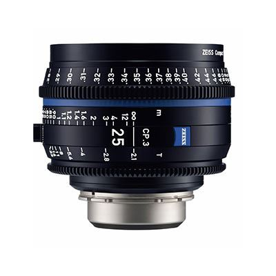 Zeiss CP.3 25mm T2.1  Lens – E Mount (Feet)