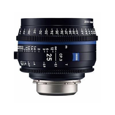 Zeiss CP.3 25mm T2.1  Lens – MFT Fit (Metric)
