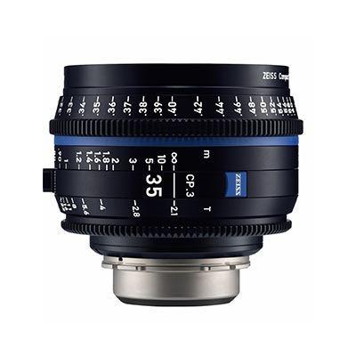 Zeiss CP.3 35mm T2.1  Lens - PL Mount (Metric)