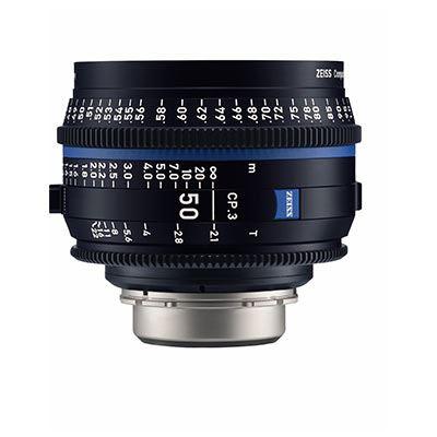 Zeiss CP.3 50mm T2.1  Lens - F Mount (Feet)