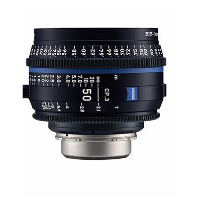 Image of Zeiss CP.3 50mm T2.1 Lens - F Mount (Metric)