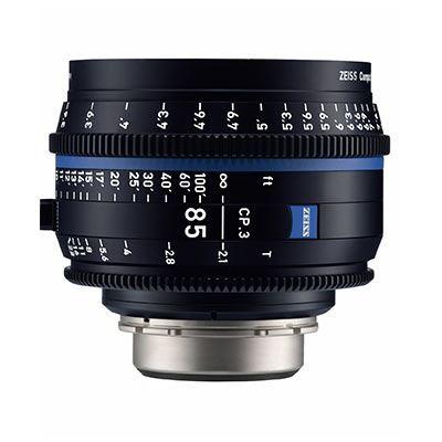 Zeiss CP.3 85mm T2.1  Lens – F Mount (Feet)