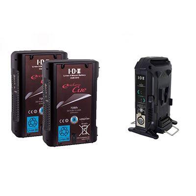 Image of IDX EC-75/2X Battery Kit