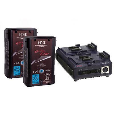 IDX EC-75/2 Battery Kit